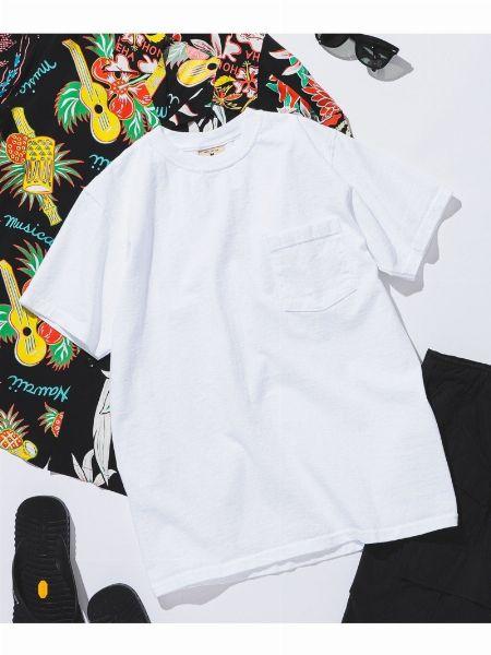 『グッドウェア』ポケット Tシャツ