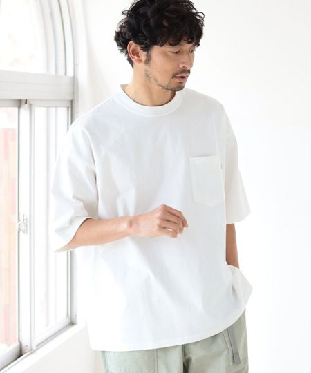 透けない、タフに見えるetc.。ヘビーウェイトのTシャツが欲しい