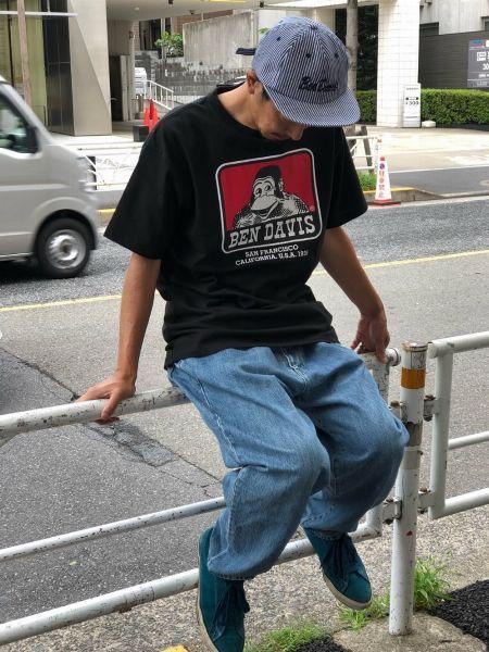 『ベンデイビス』のTシャツは、どんな着こなしにもハマります