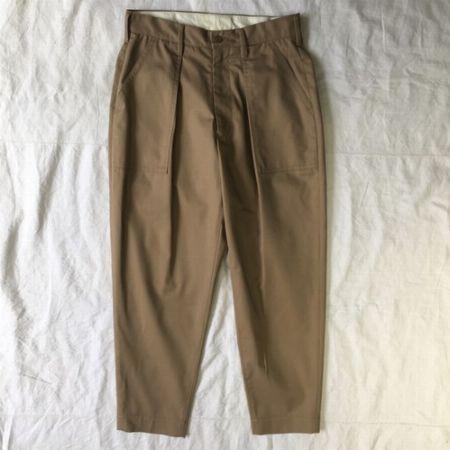 『08サーカス』High count chino cloth painter pants