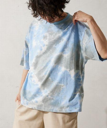 『ビームスドット』タイダイ柄 ビッグTシャツ