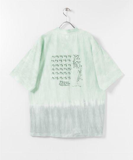『アルファ』×『グラミチ』タイダイ ビックサイズ半袖Tシャツ
