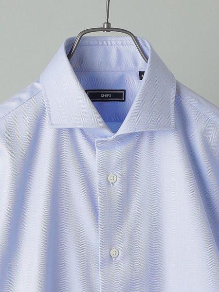 ネクタイなしでもサマになる襟型のシャツを選ぶ