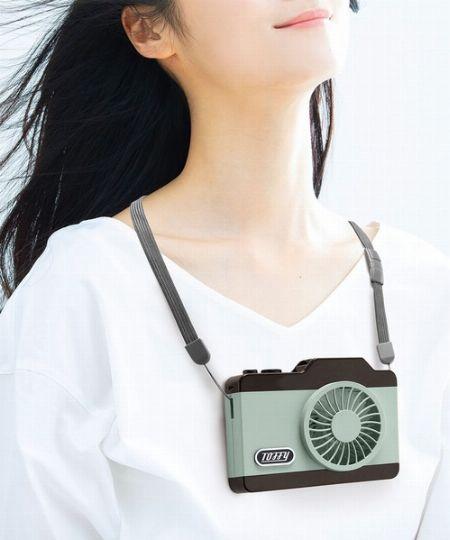 『トフィー』LEDハンズフリーカメラファン