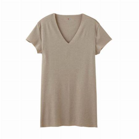 『YG』VネックTシャツ