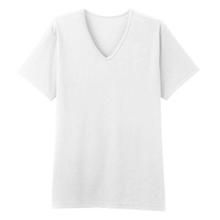 『ボディドライ』VネックTシャツ