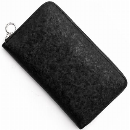 シルバーリングが上品さを醸す「ブルガリ ブルガリ」の長財布