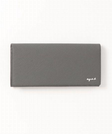 上品で洗練されたグレーの発色が目を引く長財布「OAH17-03」