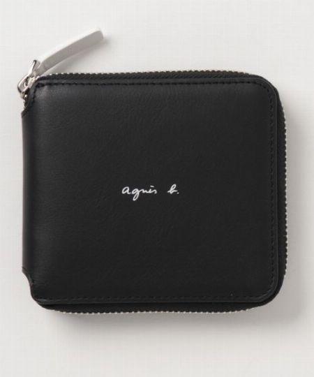 モノトーンでフレンチシックを体現したラウンドファスナー財布「MH19-01」
