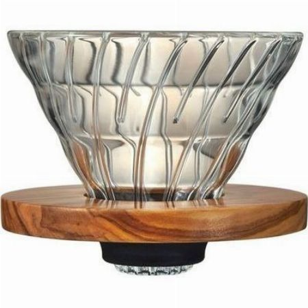 『ハリオ』V60 耐熱ガラス 透過 コーヒードリッパー