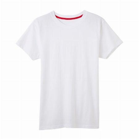 オーガニックコットンのクルーネックTシャツ
