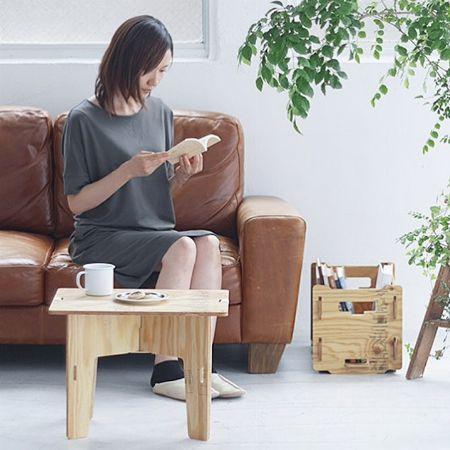 コーヒーテーブルにも使える「パネルテーブル」 2枚目の画像