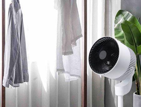 部屋干しした洗濯物を早く乾かせる