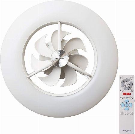 ドウシシャ『ルミナス』LEDシーリングライトサーキュレーター
