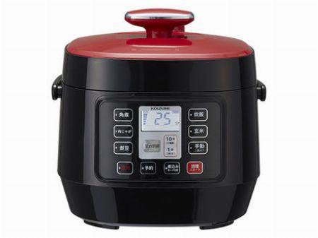 『コイズミ』マイコン電気圧力鍋 KSC-3501/R