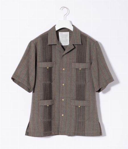 アイテム1:『アダム エ ロペ』キューバビーチオーバーサイズ開襟シャツ