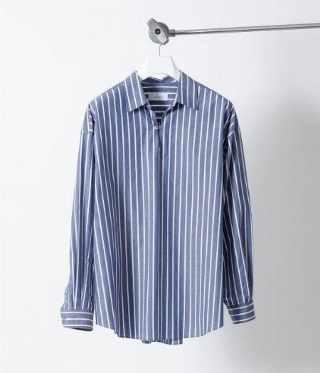 アイテム2:『アダム エ ロペ』オーバーサイズストライプスキッパーシャツ