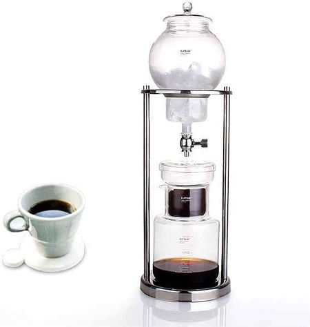 『フェチョ』耐熱ガラス アイスコーヒー