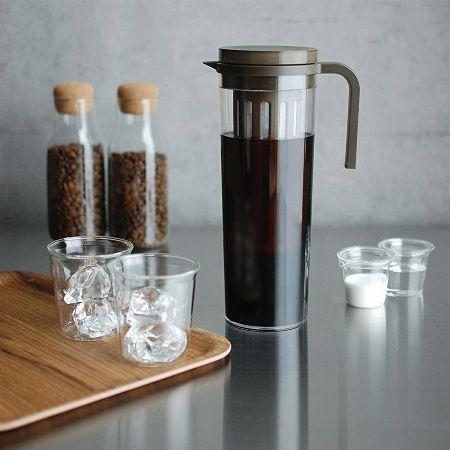 これだけあればOK。水出しコーヒー作りに必要なモノと器具