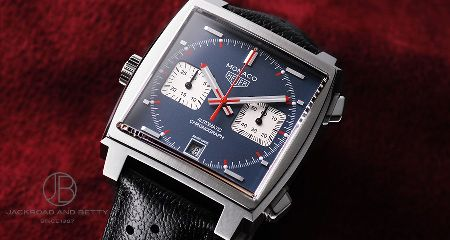 『タグ・ホイヤー』の「モナコ」は、唯一無二の腕時計だ