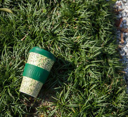 『エコーヒーカップ』ウィリアム・モリス タンブラー デザイン