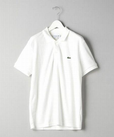 ▼アイテム1:「ポロシャツ」は、ジャストサイズで品格アップ