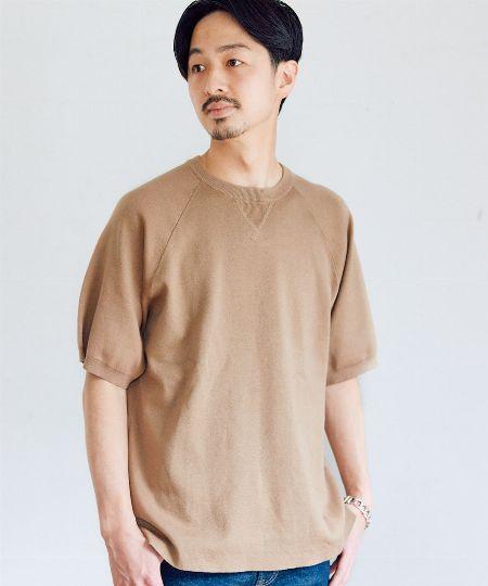 『キャプテンスタッグ』×『フリークスストア』マックスウェイト サイドポケット キャンプTシャツ