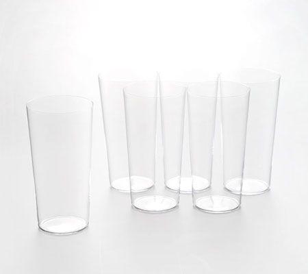意外と丈夫な「うすはりグラス」は、手洗いで自然乾燥を推奨