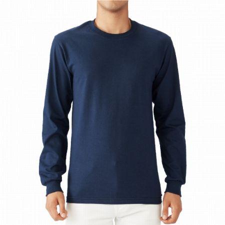 高級綿糸で編み上げた6.1オンスハンマー長袖Tシャツ