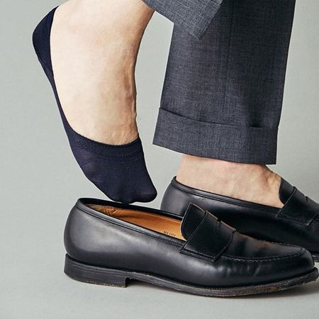 素足に見えて、素足で履くよりメリット多数。フットカバーを履こう
