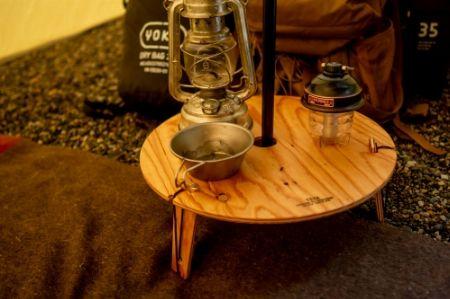 ティピー専用のテーブルを用意