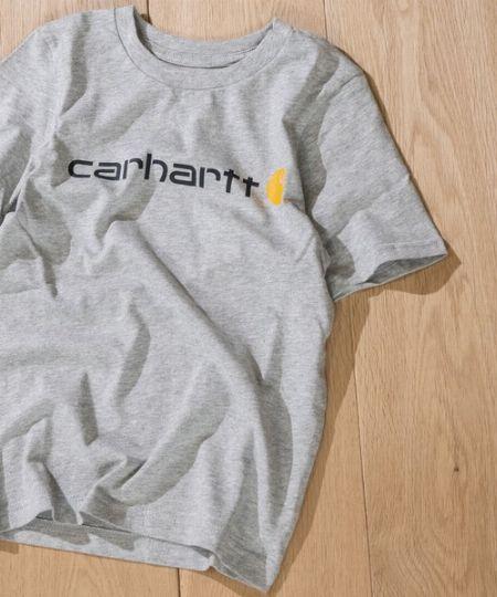 『カーハート』22 ロゴTシャツ
