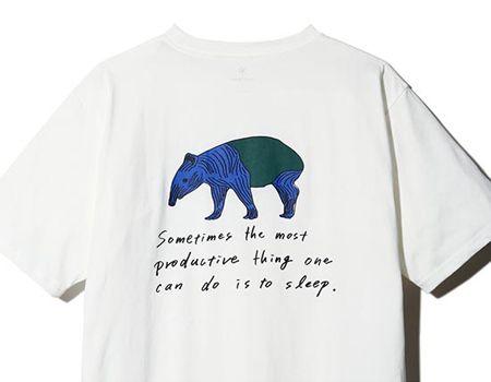 『チャムス』キッズ ブービーフェイスTシャツ