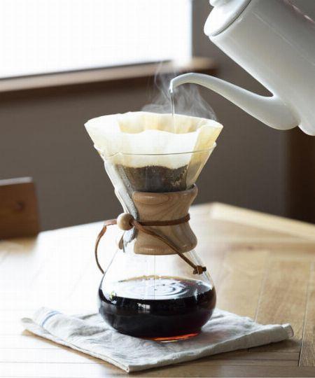 シンプルなのに機能的。『ケメックス』のコーヒーメーカーの魅力とは? 2枚目の画像