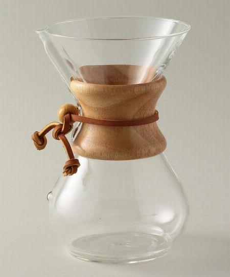 シンプルなのに機能的。『ケメックス』のコーヒーメーカーの魅力とは?