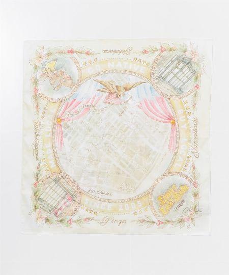 『オーシバル』×『マニプリ』コットンスカーフ