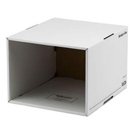 「バンカーズボックス」を、「ファイルキューブ」でもっと便利に