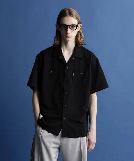 『ジムマスター』ストレッチツイルスナップボタンシャツジャケット