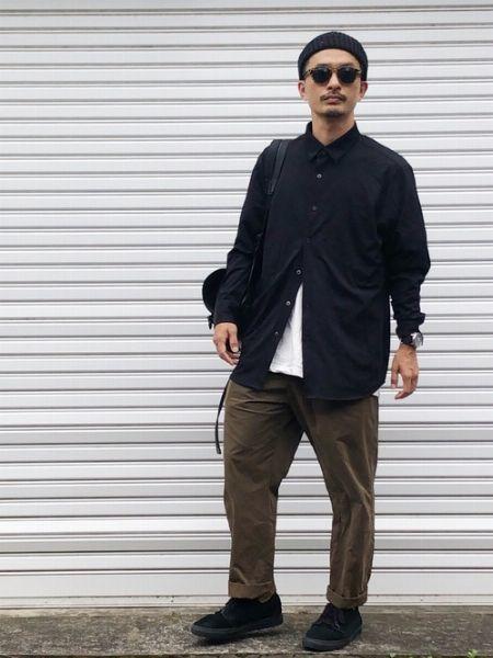 黒シャツって着こなすのが難しくないですか?
