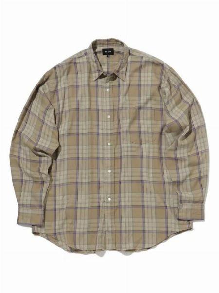 『ビッグマック』×『フリークス ストア』ビッグシルエットチェックシャツ