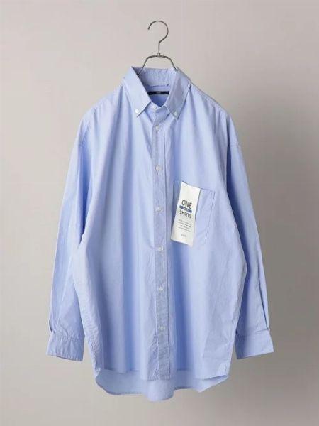 『トゥモローランド』スタンドカラービッグシャツ