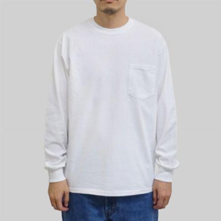 『ギルダン』ウルトラコットン 長袖ポケットTシャツ