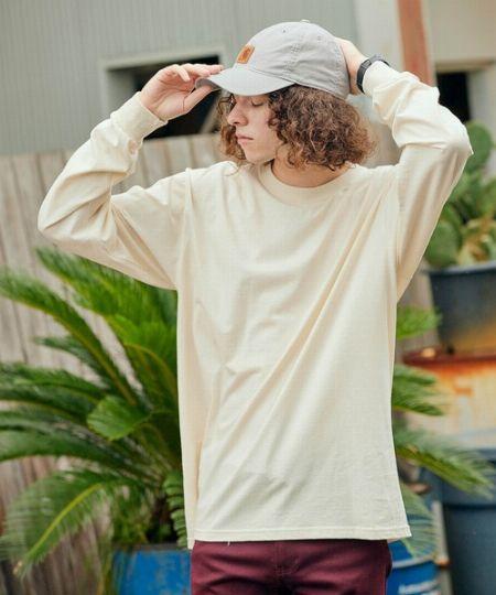 『フルーツオブザルーム』クルーネックロングTシャツ