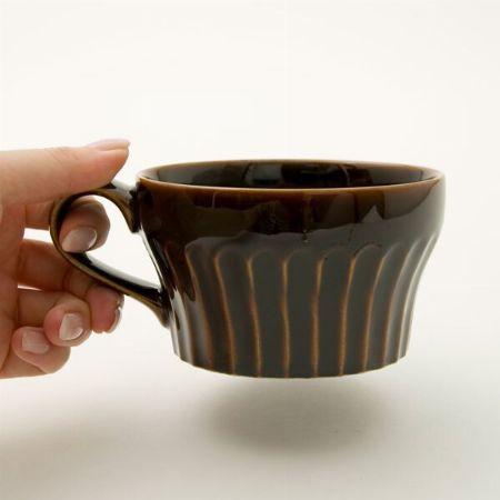 『ニトリ』軽量スープカップ しのぎ 飴紬2個セット