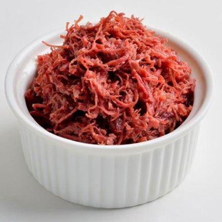 『明治屋』おいしい缶詰 プレミアムほぐしコンビーフ粗挽黒胡椒味