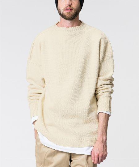 『ル・トリコチュール』トラディショナルウールガンジーセーター