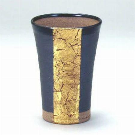 『九谷和窯』泡がおいしい泡多長ビアカップ