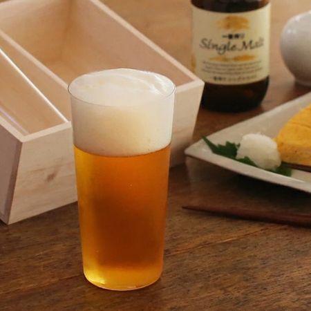 見た目からビールを楽しみたいなら「ガラス」製を