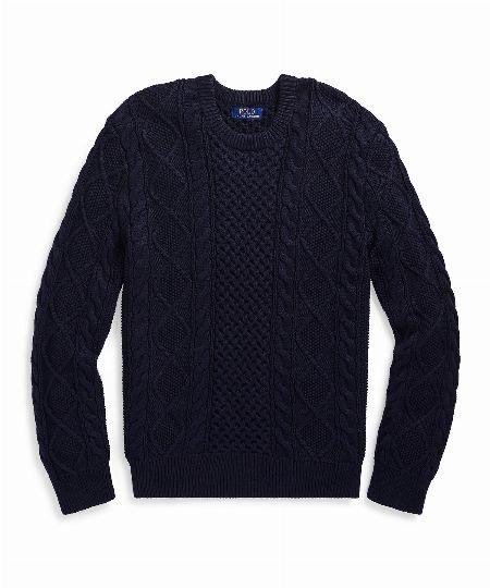 アイコニック フィッシャーマンズ セーター