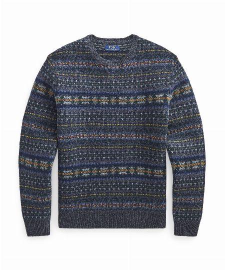 フェアアイル ウール セーター